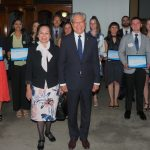 2021 Award Ceremony for 2020 winners in the Mortlock Wing